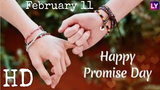 valentines week promise day