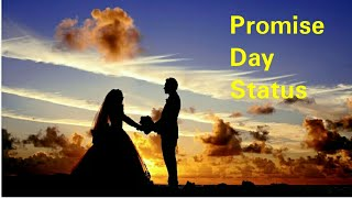 Promise day status video