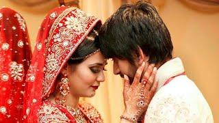 bride in cloths